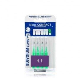 Elgydium Clinic Mono Compact 1.1 mm 4 brushes