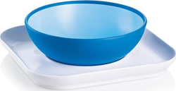 Mam Babys Bowl & Plate Blue, 6m+