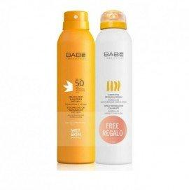 Babe Laboratorios Promo Transparent Suncreen Wetskin SPF50 200ml & Soothing Repairing Spray 200ml