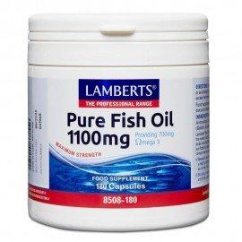 Lamberts Pure Fish Oil 1100mg 180 κάψουλες