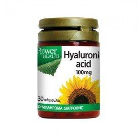 Power Health Hyaluronic Acid 100mg Υαλουρονικό Οξύ 30Caps