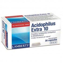 Lamberts Acidophilus Extra 10 Προβιοτικό Σκεύασμα 30 Capsules