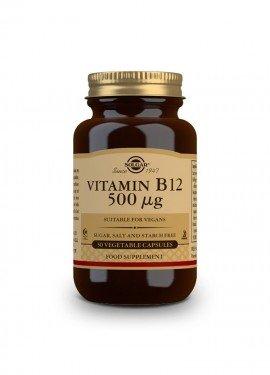 Solgar Vitamin B-12 500 μg 50 veg. caps