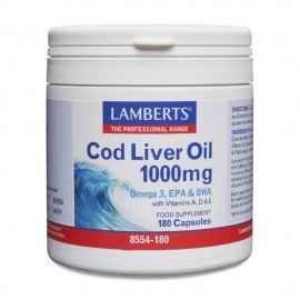 Lamberts Cod Liver Oil 1000mg 180 Caps