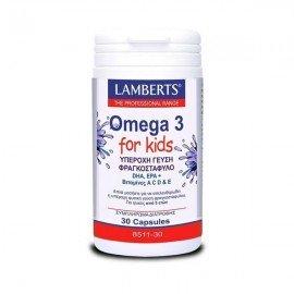 Lamberts Omega 3 for Kids Berry Bursts 30 caps
