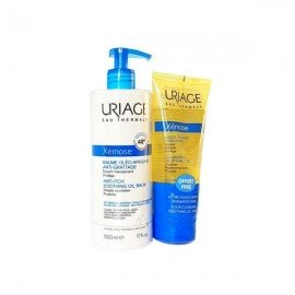 Uriage Xemose Anti-Itching Soothing Oil Balm 500 ml & Δώρο Cleansing Soothing Oil 200 ml