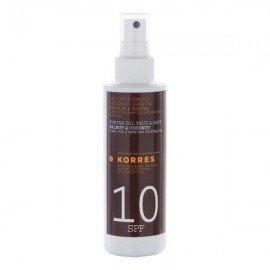 Korres Καρύδι & Καρύδα Λάδι μαυρίσματος SPF10 150 ml