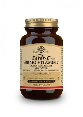 Solgar Ester-C plus 500 mg Vitamin C/Bioflavonoid Complex 100 veg.caps