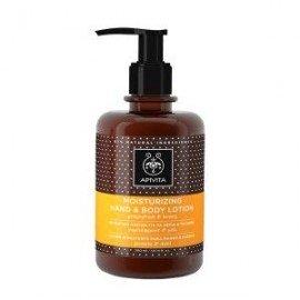 Apivita Moisturizing Hand & Body Lotion grapefruit & honey 300 ml