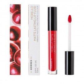 Korres Morello Matte Lasting Lip Fluid 53 Red Velvet 3.4 ml