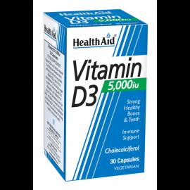 Health Aid Vitamin D3 5000 IU 30 caps