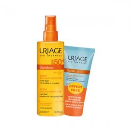 Uriage Bariesun SPF50+ Spray 200 ml & Repairing Balm After Sun 50 ml