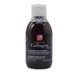 NutraLEad Collagen Υγρό Πόσιμο Κολλαγόνο 10.000 mg με Υαλουρονικό Οξύ & Κουρκουμίνη 300ml.