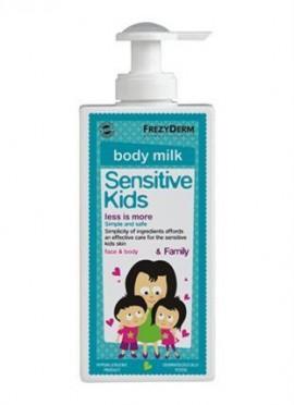 Frezyderm Sensitive Kids Face Body Milk Ενυδατικό Γαλάκτωμα για Πρόσωπο - Σώμα 200ml