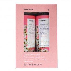 Korres Intimate Area Cleanser 250 ml 1+1 Δώρο