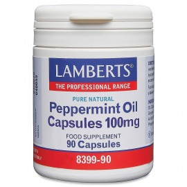 Lamberts Peppermint Oil 100mg 90 κάψουλες
