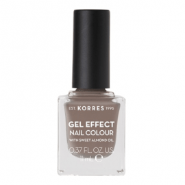 Korres Gel Effect Nail Colour 95 Stone Grey 11 ml