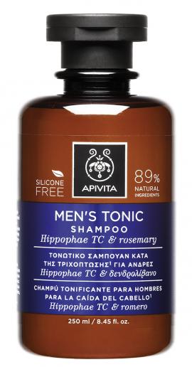 Apivita Τονωτικό Σαμπουάν κατά της Τριχόπτωσης για Άνδρες με Hippophae TC & Δενδρολίβανο 250ml