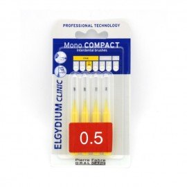 Elgydium Clinic Mono Compact 0.5 mm 4 brushes