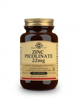 Solgar Zinc Picolinate 22 mg 100 tabs