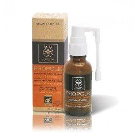 Apivita Propolis Βιολογικό Spray για το Λαιμό με Αλθέα & Πρόπολη 30ml