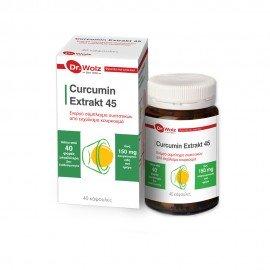 Dr. Wolz Curcumin Extrakt 45 40 caps