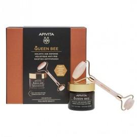 Apivita Promo Queen Bee Light Texture Cream 50 ml & Δώρο Face Roller