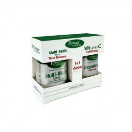 Power Health Promo Classics Platinum Range Multi+Multi Time 30 ταμπλέτες & Vitamin C 1000mg 20 ταμπλέτες