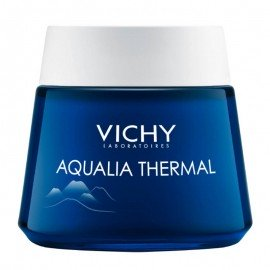 Vichy Aqualia Thermal Night Spa Cream, Ενυδατική φροντίδα Νυκτός και Μάσκα, 75ml