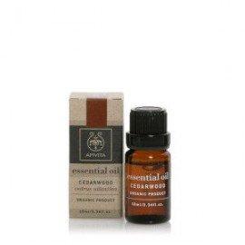 Apivita Essential oil Βιολογικό αιθέριο έλαιο Κέδρος 10 ml