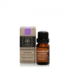 Apivita Essential oil Βιολογικό αιθέριο έλαιο Λεβάντα 10 ml