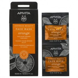 Apivita Express Beauty Με Πορτοκάλι 2X8ml