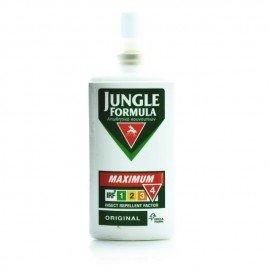 Omega Pharma Jungle Formula Maximum Original Εντομοαπωθητικό Σπρέι με Deet 50% και Φυτικά Εκχυλίσματα 75ml